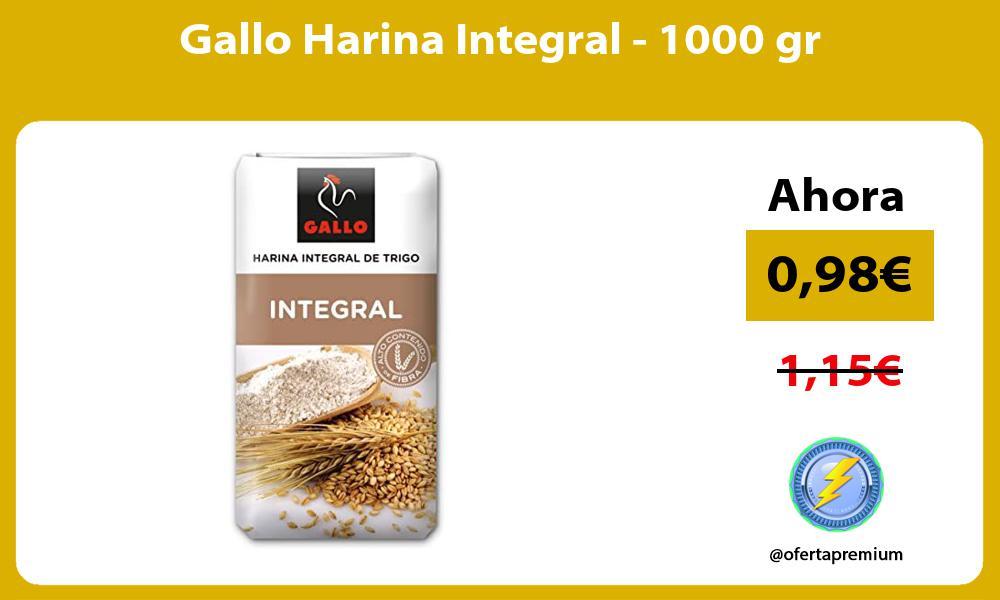 Gallo Harina Integral 1000 gr
