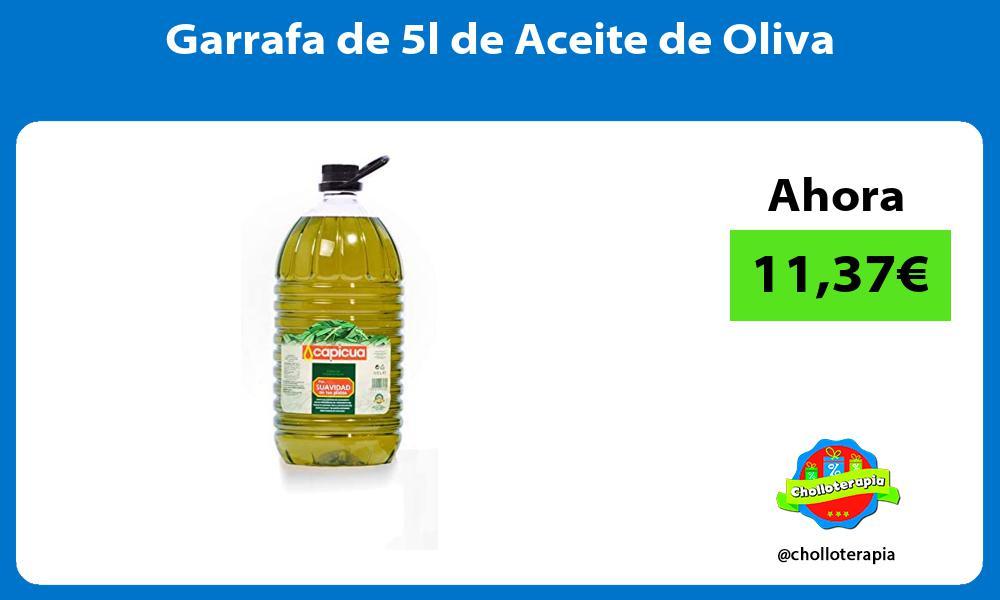 Garrafa de 5l de Aceite de Oliva