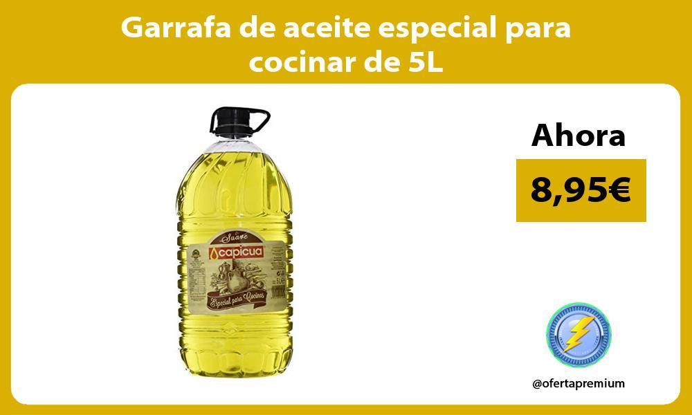 Garrafa de aceite especial para cocinar de 5L