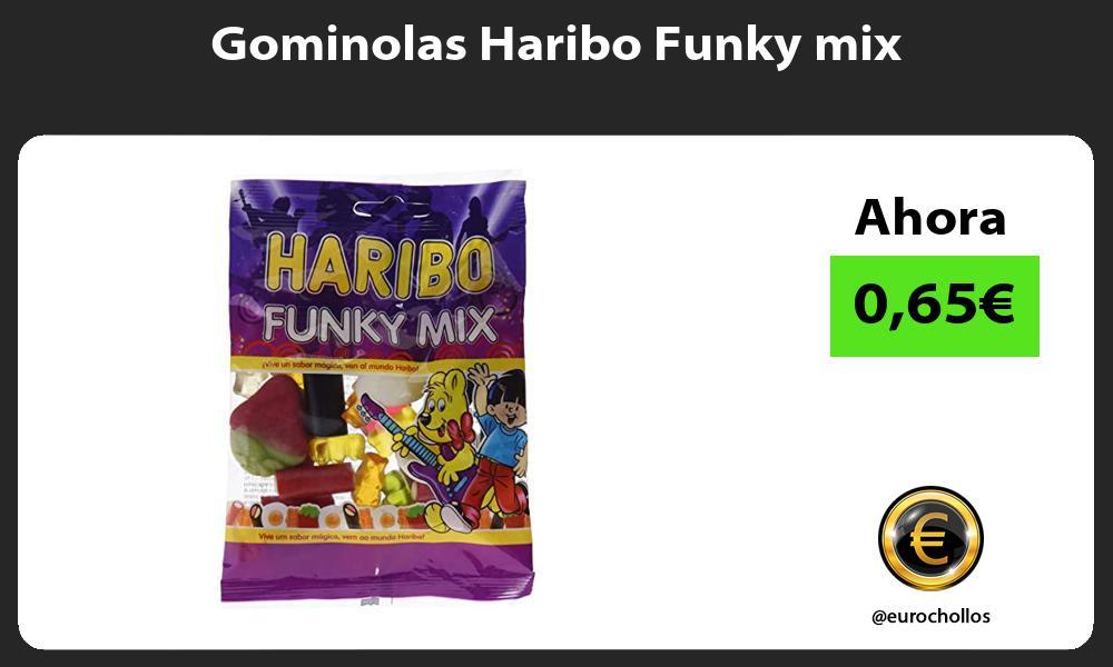 Gominolas Haribo Funky mix