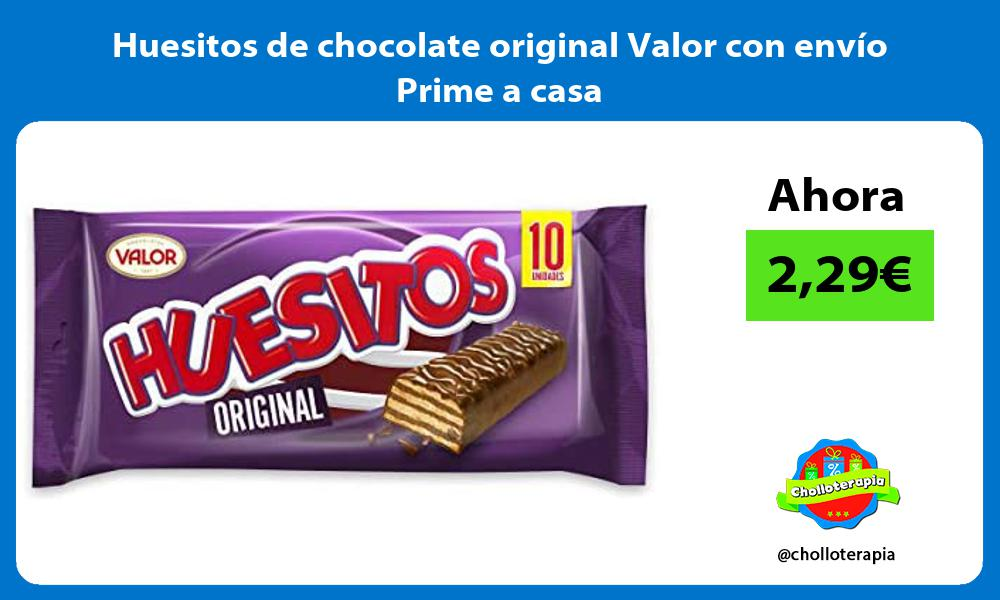 Huesitos de chocolate original Valor con envío Prime a casa