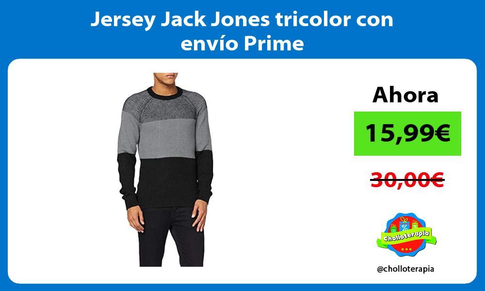 Jersey Jack Jones tricolor con envío Prime