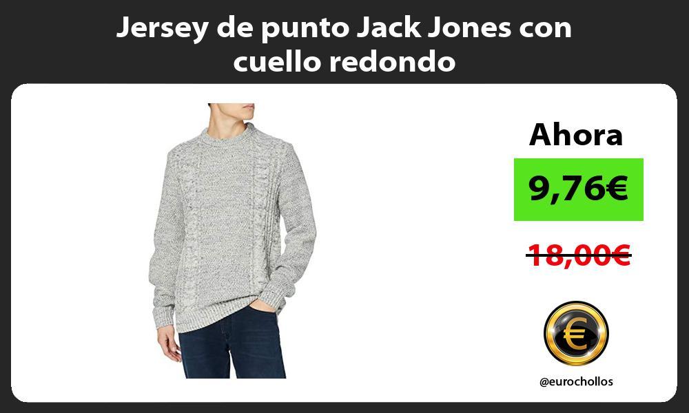 Jersey de punto Jack Jones con cuello redondo