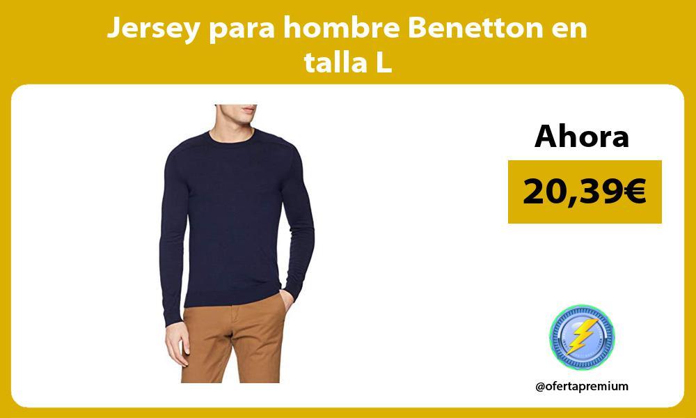 Jersey para hombre Benetton en talla L