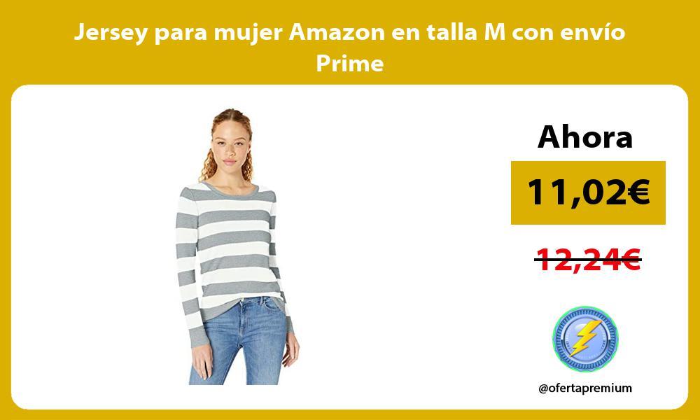 Jersey para mujer Amazon en talla M con envío Prime