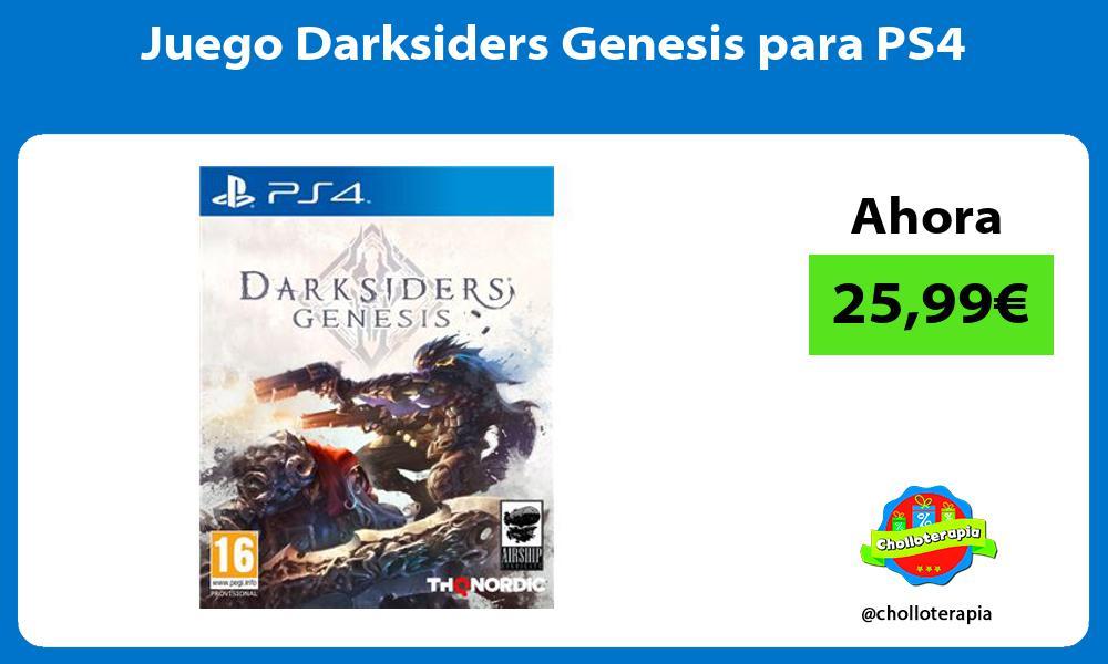 Juego Darksiders Genesis para PS4