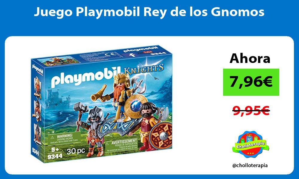 Juego Playmobil Rey de los Gnomos