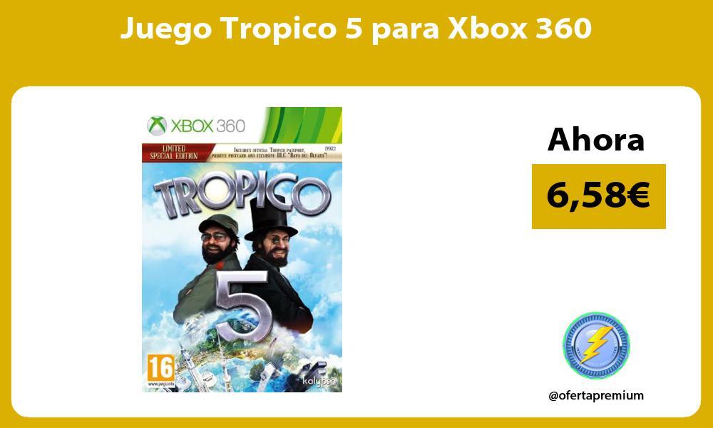 Juego Tropico 5 para Xbox 360
