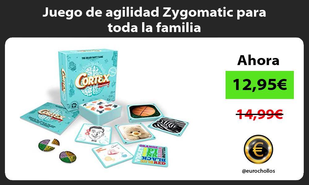 Juego de agilidad Zygomatic para toda la familia