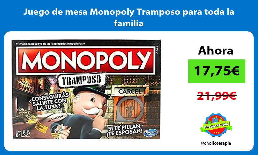 Juego de mesa Monopoly Tramposo para toda la familia