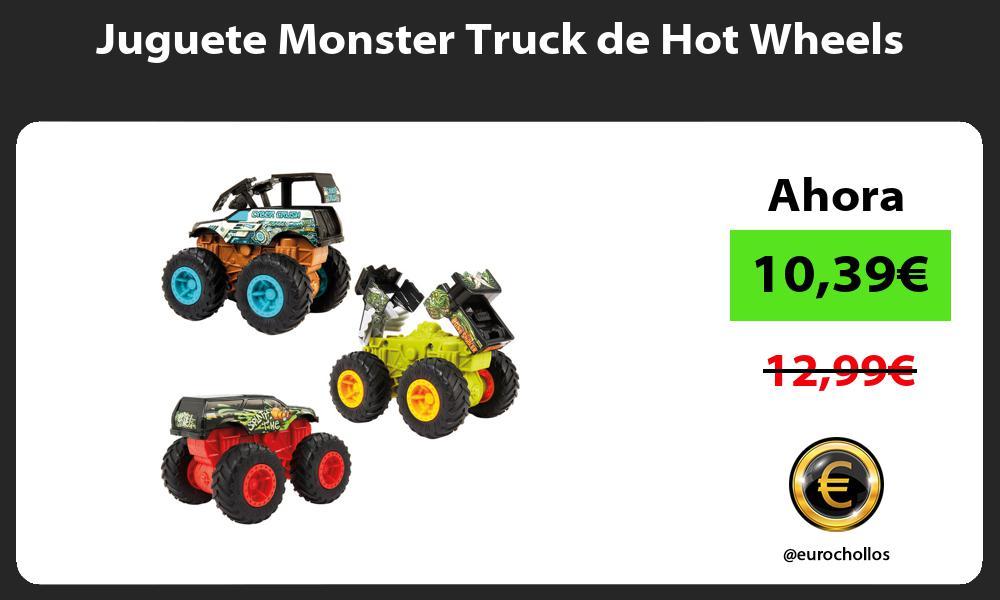 Juguete Monster Truck de Hot Wheels