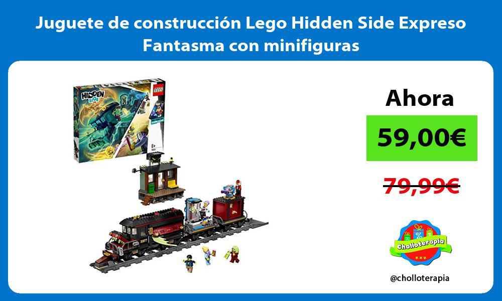 Juguete de construcción Lego Hidden Side Expreso Fantasma con minifiguras