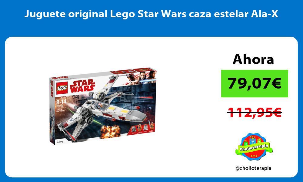 Juguete original Lego Star Wars caza estelar Ala X