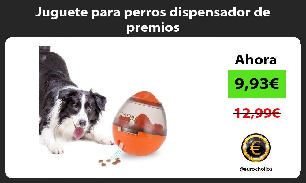 Juguete para perros dispensador de premios