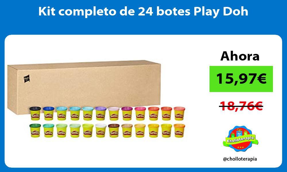 Kit completo de 24 botes Play Doh