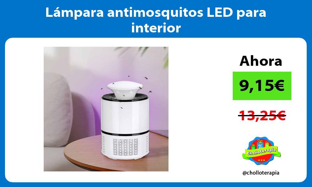 Lámpara antimosquitos LED para interior