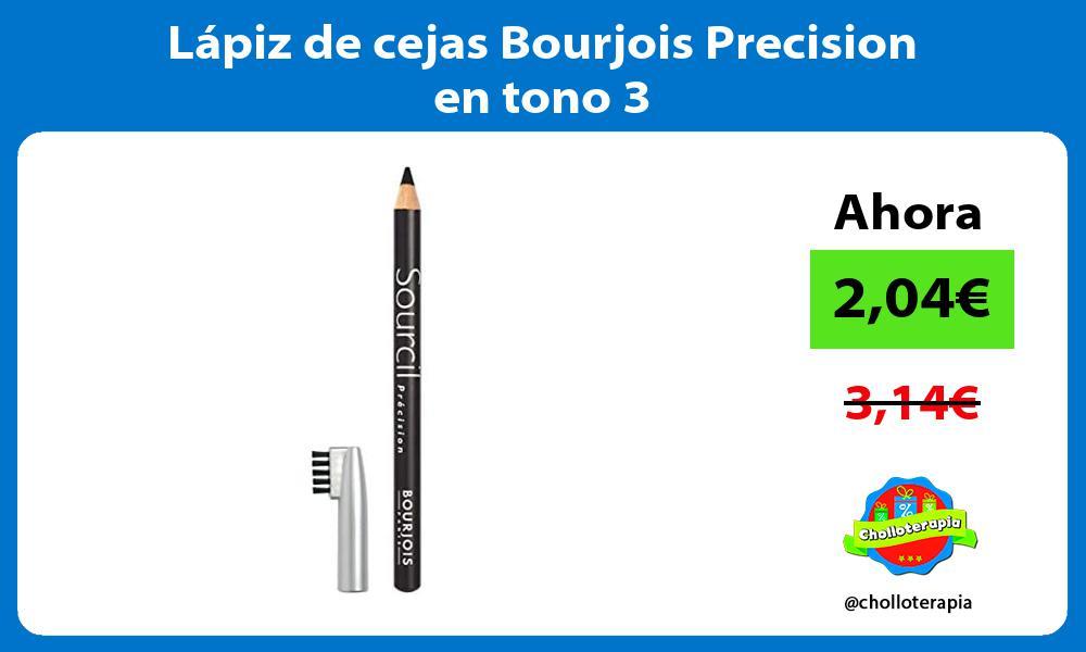 Lápiz de cejas Bourjois Precision en tono 3