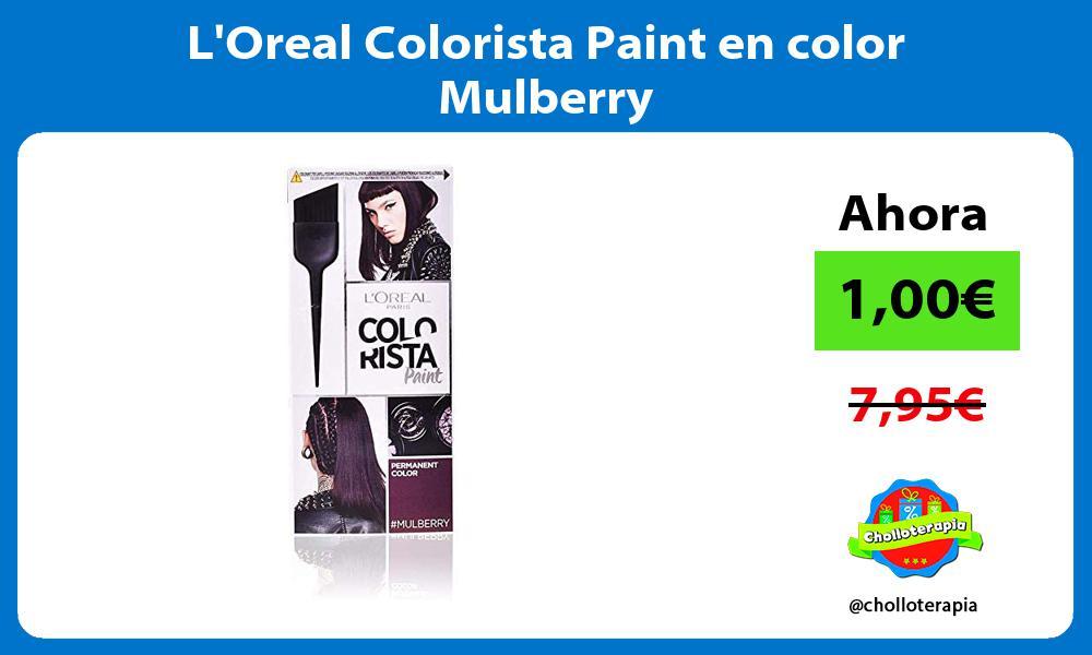 LOreal Colorista Paint en color Mulberry