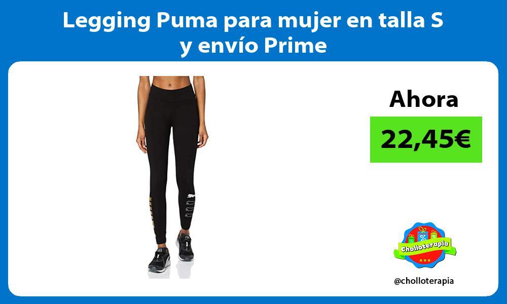 Legging Puma para mujer en talla S y envío Prime