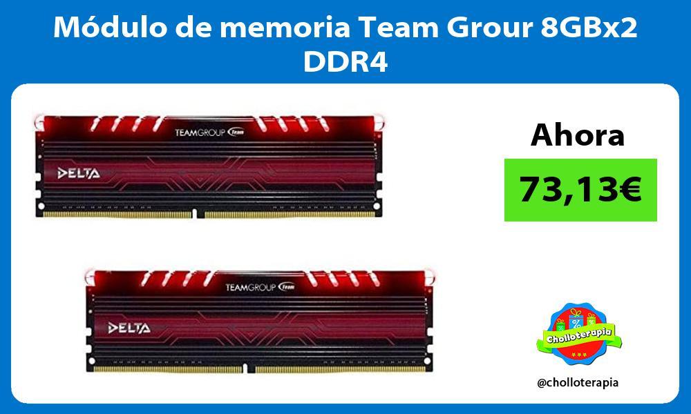 Módulo de memoria Team Grour 8GBx2 DDR4