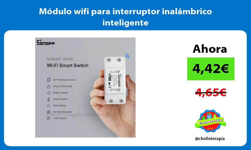 Módulo wifi para interruptor inalámbrico inteligente