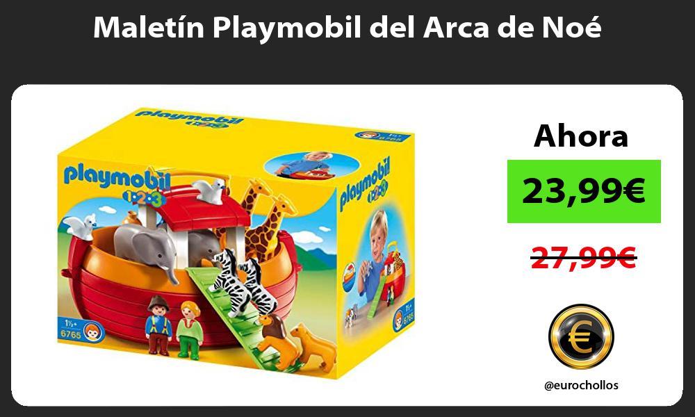 Maletín Playmobil del Arca de Noé