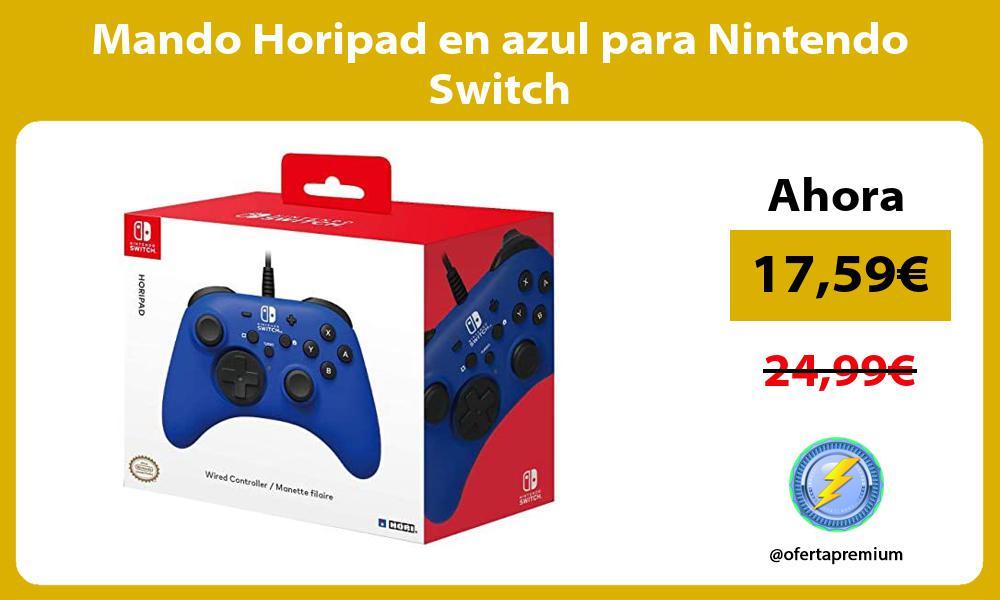 Mando Horipad en azul para Nintendo Switch