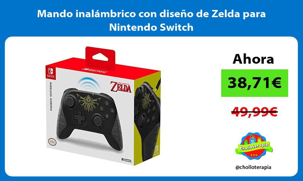 Mando inalámbrico con diseño de Zelda para Nintendo Switch
