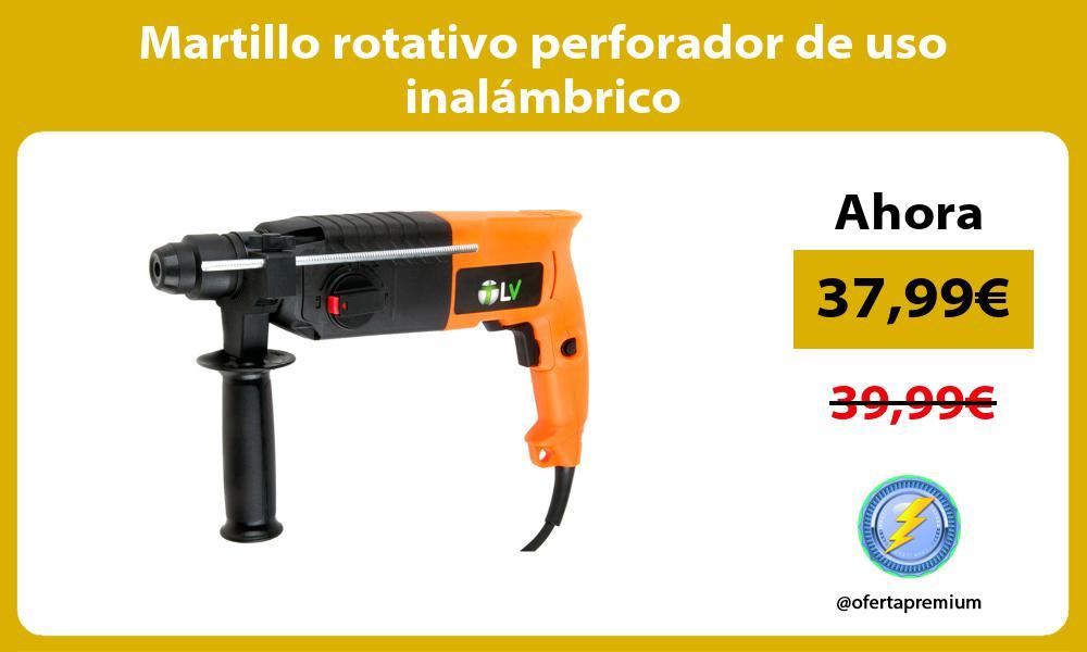 Martillo rotativo perforador de uso inalámbrico