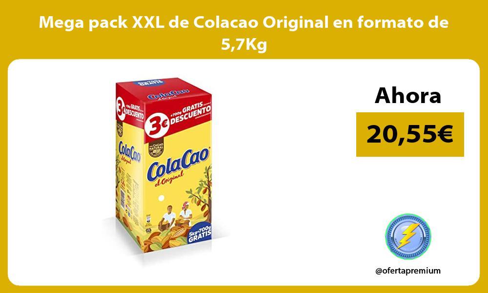 Mega pack XXL de Colacao Original en formato de 57Kg