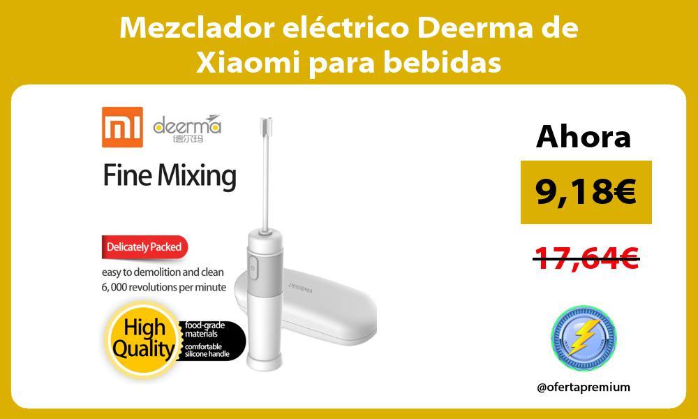 Mezclador eléctrico Deerma de Xiaomi para bebidas