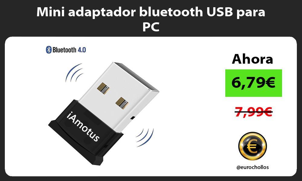 Mini adaptador bluetooth USB para PC