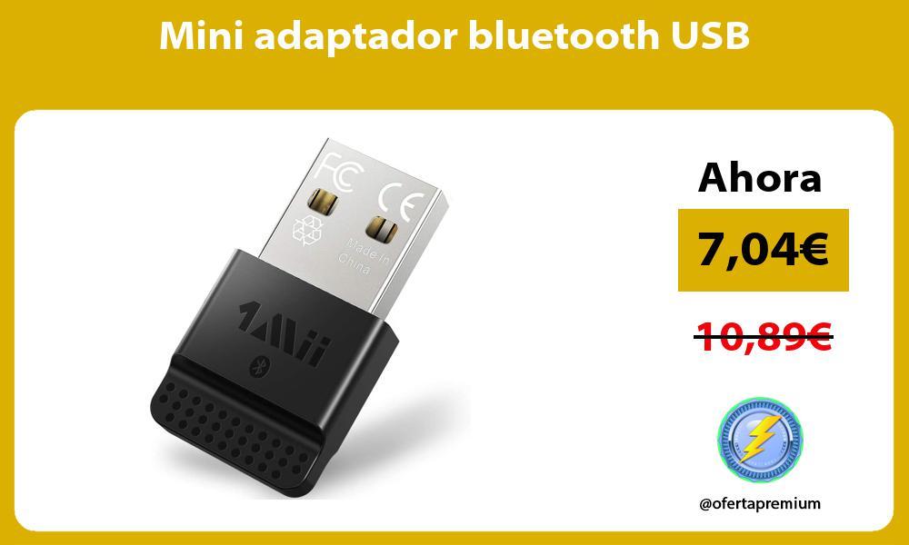 Mini adaptador bluetooth USB