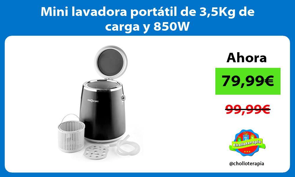 Mini lavadora portátil de 35Kg de carga y 850W