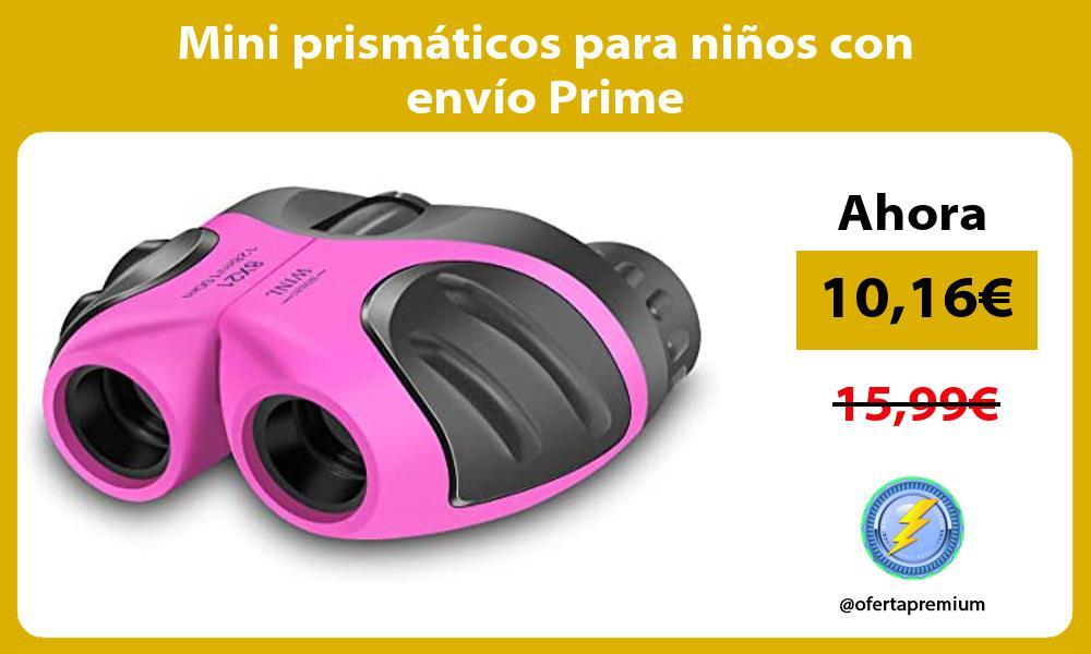 Mini prismáticos para niños con envío Prime