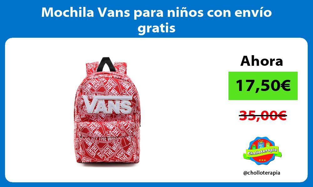 Mochila Vans para niños con envío gratis