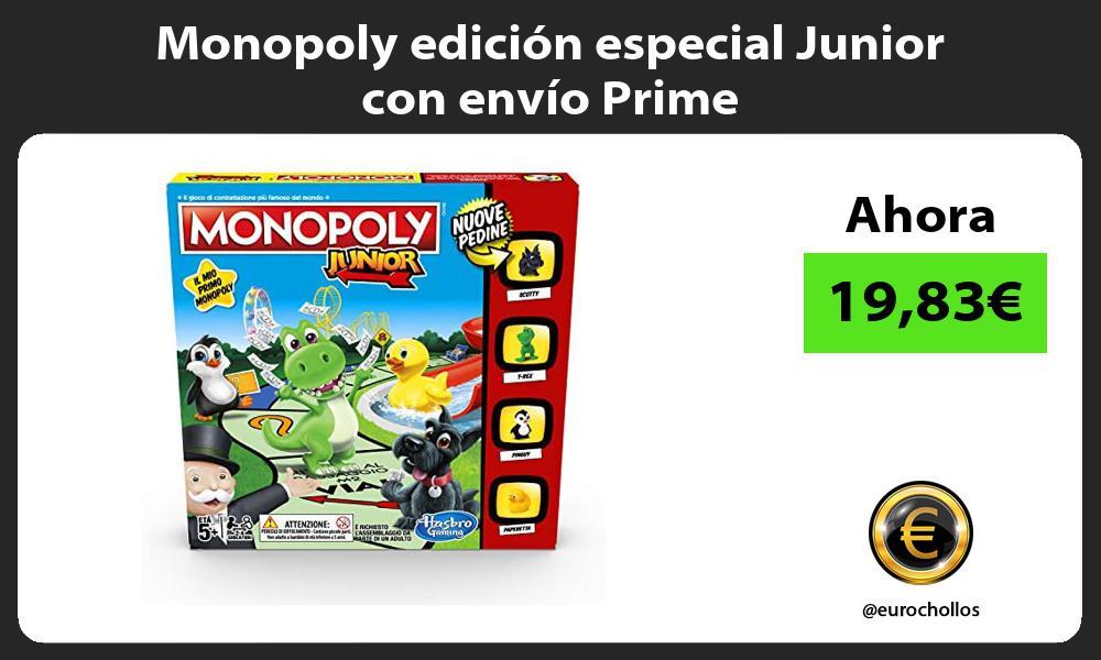 Monopoly edición especial Junior con envío Prime