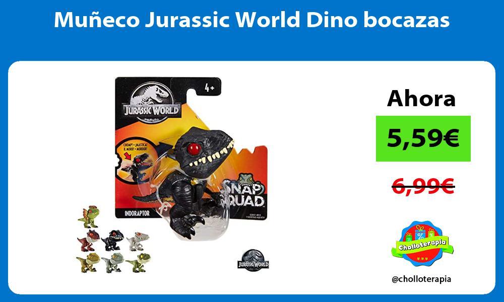Muñeco Jurassic World Dino bocazas