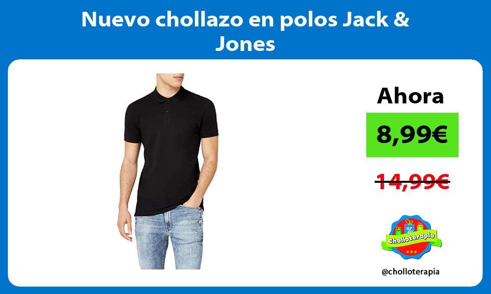 Nuevo chollazo en polos Jack Jones
