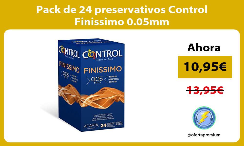 Pack de 24 preservativos Control Finissimo 0 05mm