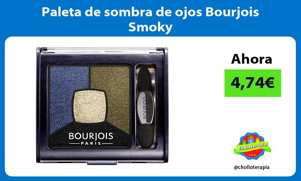 Paleta de sombra de ojos Bourjois Smoky