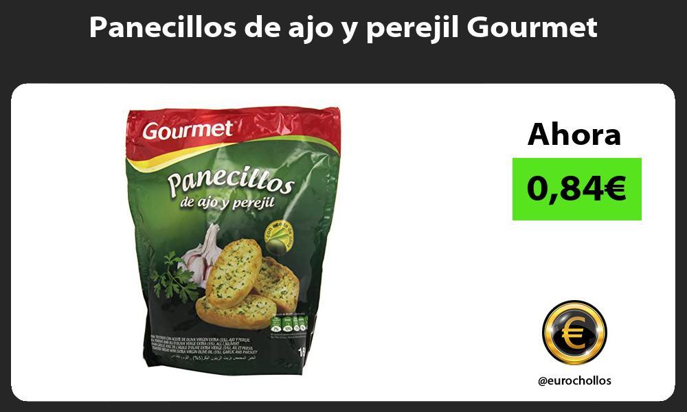 Panecillos de ajo y perejil Gourmet