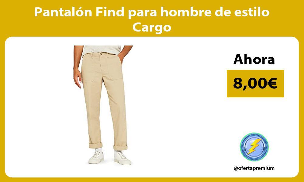 Pantalón Find para hombre de estilo Cargo