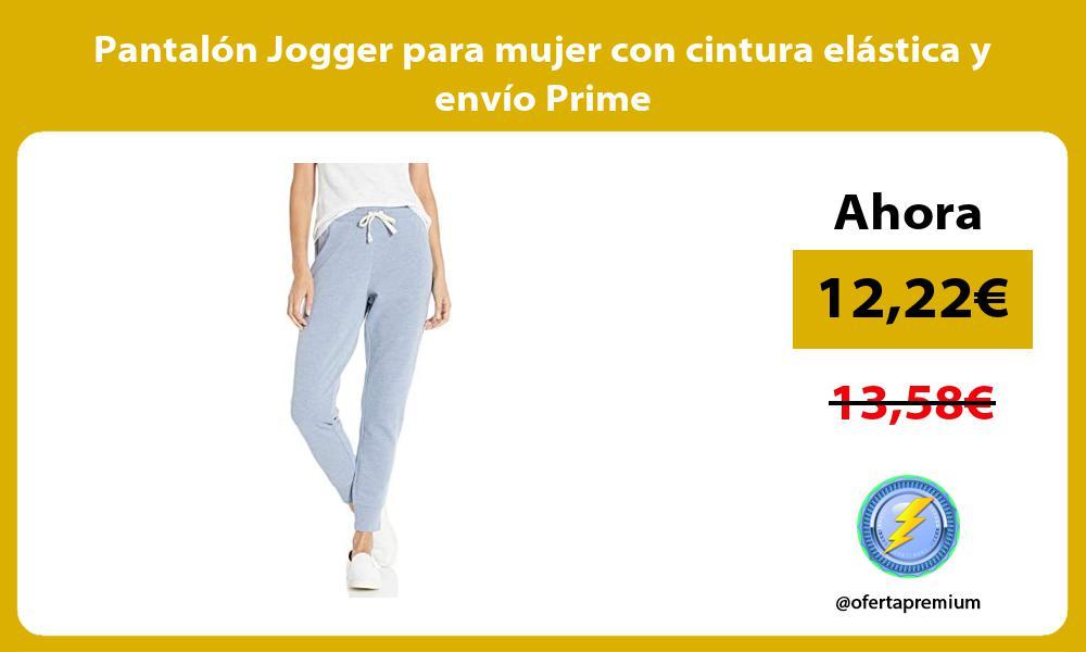 Pantalón Jogger para mujer con cintura elástica y envío Prime