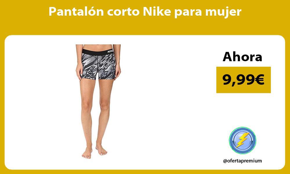 Pantalón corto Nike para mujer