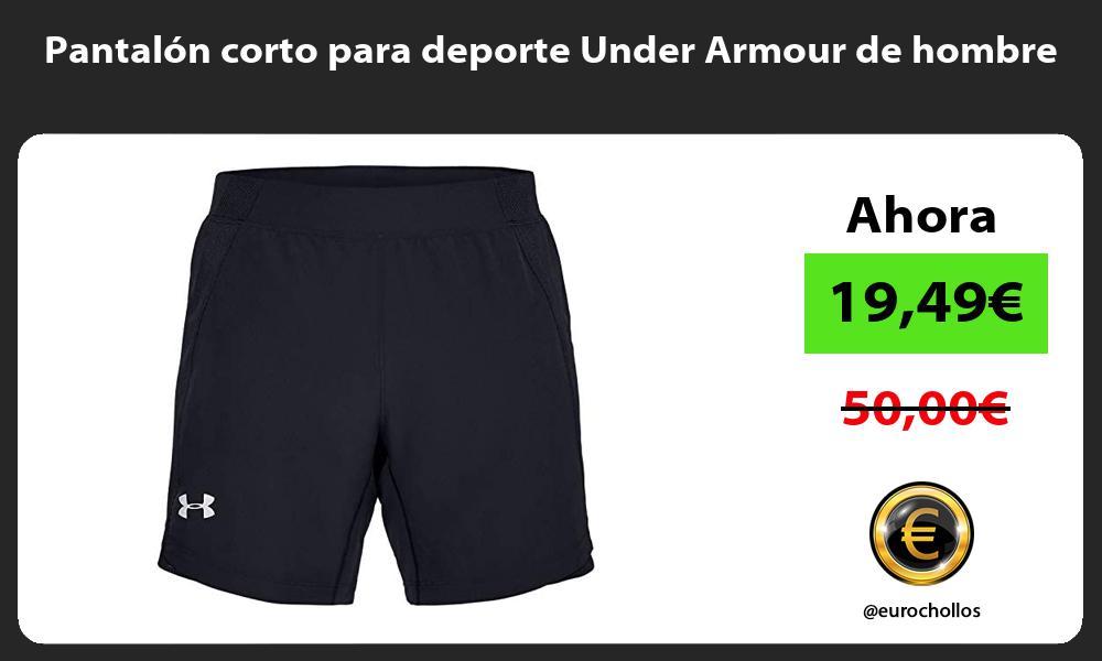 Pantalón corto para deporte Under Armour de hombre