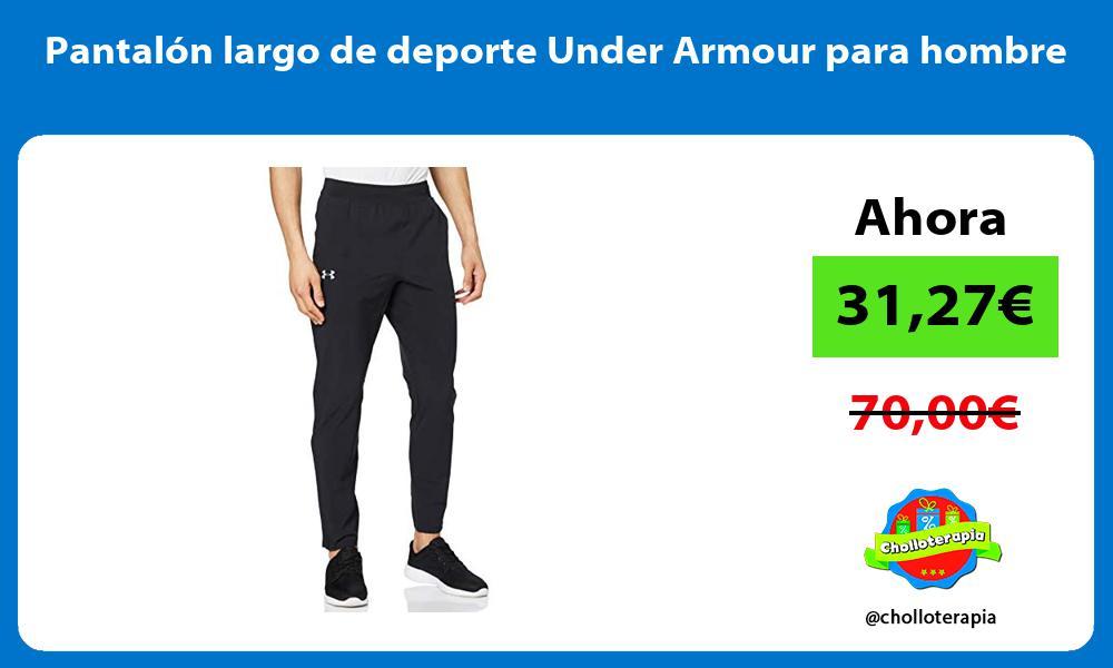 Pantalón largo de deporte Under Armour para hombre