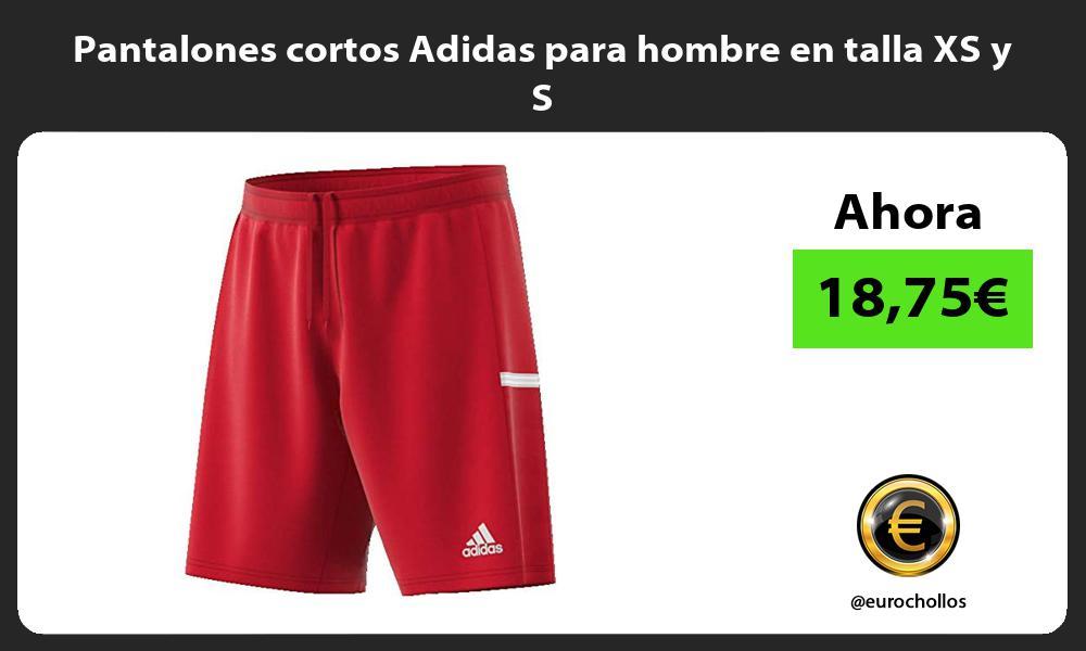Pantalones cortos Adidas para hombre en talla XS y S
