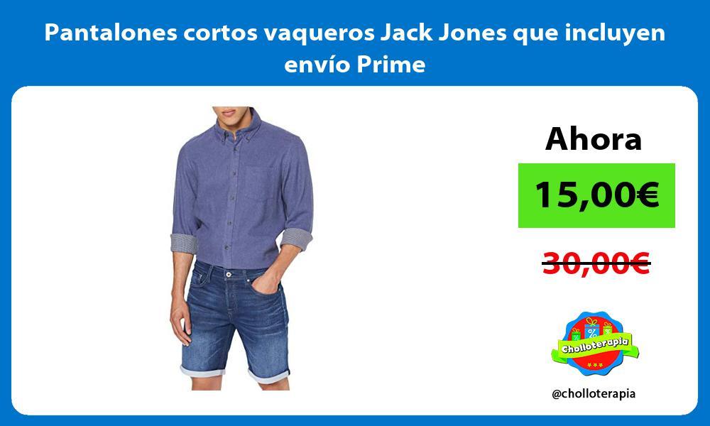 Pantalones cortos vaqueros Jack Jones que incluyen envío Prime
