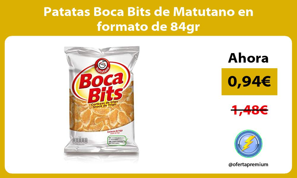 Patatas Boca Bits de Matutano en formato de 84gr